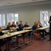 Vidzemes Tūrisma asociācijas seminārs Smiltenes tehnikumā