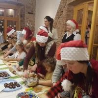 12.12.2019  Rūķu meistardarbnīca tehnikuma darbinieku bērniem