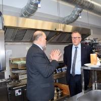 Ekonomikas ministra Arvila Ašeradena vizīte Smiltenes tehnikumā