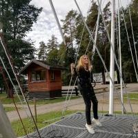 Koris piedzīvojumu parkā